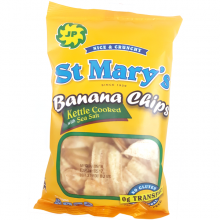 St Mary's Banana Chips (Original with Sea Salt)