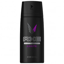 Axe Body Spray Deodorant Anti-Perspirant  Excite 150ml
