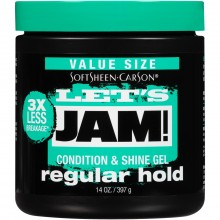 Lets Jam Shine & Cond Gel 14oz