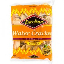 Excelsior Fat Free Water Crackers, Cinnamon, 336g