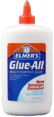 Elmer's Glue-All Multi-Purpose Glue, 16 Ounces, White E1321