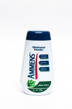 Ammens Medicated Powder, Aloe Vera, 150g