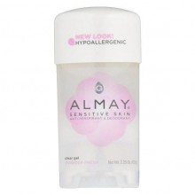 Almay Sensitive Skin Anti-Perspirant & Deodorant Clear Gel, Powder Fresh, 2.25oz