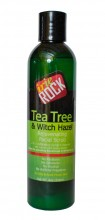 IRIE ROCK Tea Tree & Witch Hazel Facial Scrub, 8 fl oz (236 ml)