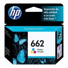 HP 662 Tri-color Original Ink Advantage Cartridge (CZ104AL).