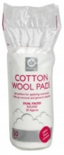 Fitzroy Dual Faced Cotton Wool Pads, Round, 50 Cn