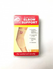 Fitzroy Elasticated Elbow Support, L, 27.9 - 30.5cm