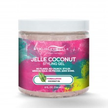 Kurlee Belle Jelle Coconut Styling Gel 8oz
