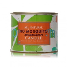 No Mosquito All Natural Candle, 16 oz