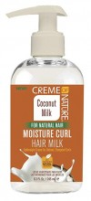 Creme Of Nature Coconut Milk Moisture Curl Hair Milk 8.3 Ounce
