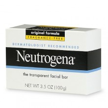 Neutrogena Transparent Facial Bar Soap, Fragrance Free 3.5 oz (100 g)