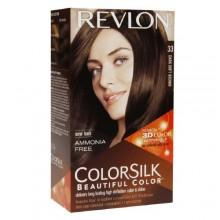 Revlon Colorsilk Beautiful Color, Dark Soft Brown 33 1 ea