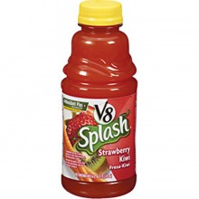 V8 Splash Juice Drinks Strawberry Kiwi, 16 oz