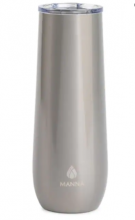 Manna The Sleek Double Wall Insulated Stainless Steel 9oz