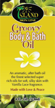 Island Skin Line Groovy Body & Bath Oil 4oz