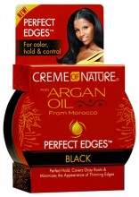 Creme of Nature Perfect Edges, Black, 2.25 Ounce