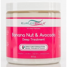 Kurlee Belle Banana Nut & Avocado Deep Treatment 8oz