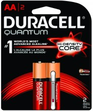 Duracell Quantum AAA Battery 66248, AAA, 2 Pack