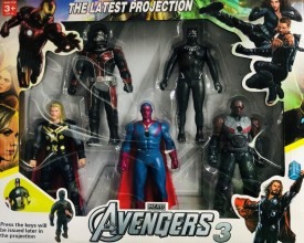 Avengers 3 Great Collection Of Heroes