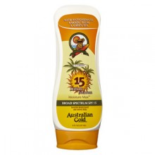 Australian Gold Lotion Sunscreen Broad Spectrum SPF 15, 8oz