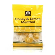 Fitzroy Honey &Lemon Menthol 100g