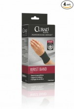 Curad Elastic Wrist Band Small/Box of 4